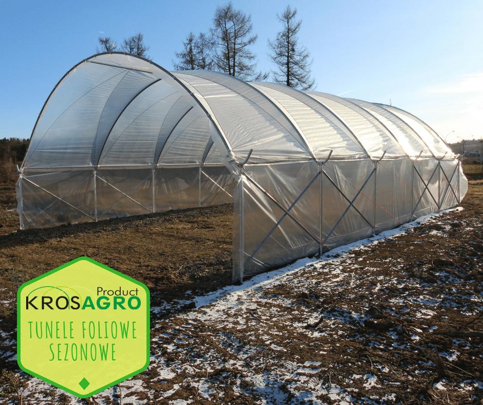 Profesjonalne tunele do upraw sezonowych