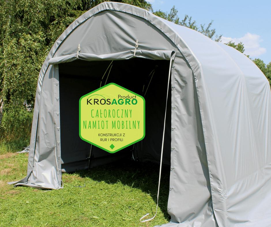 Wielosezonowy namiot przenośny