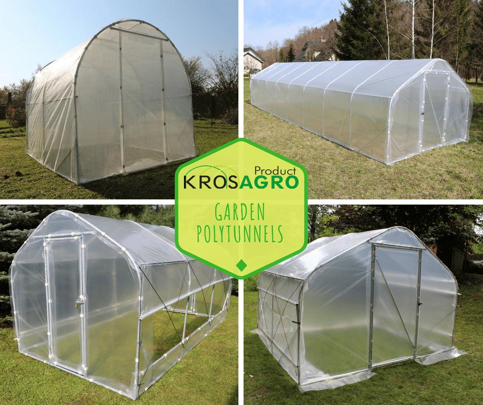 garden constructions - polytunnel from Krosagro
