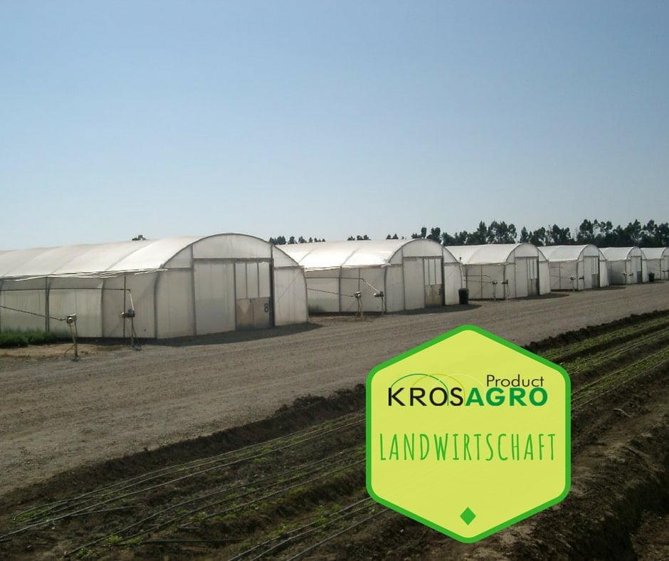 Foliengewächshäuser für die Landwirtschaft
