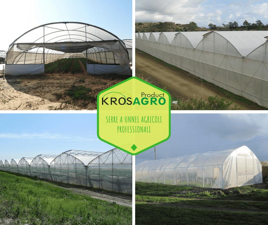 serre a tunnel professionali per produttori di piante