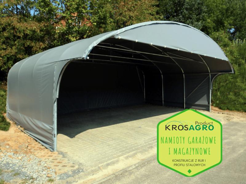 Namiot do garażowania i magazynowania