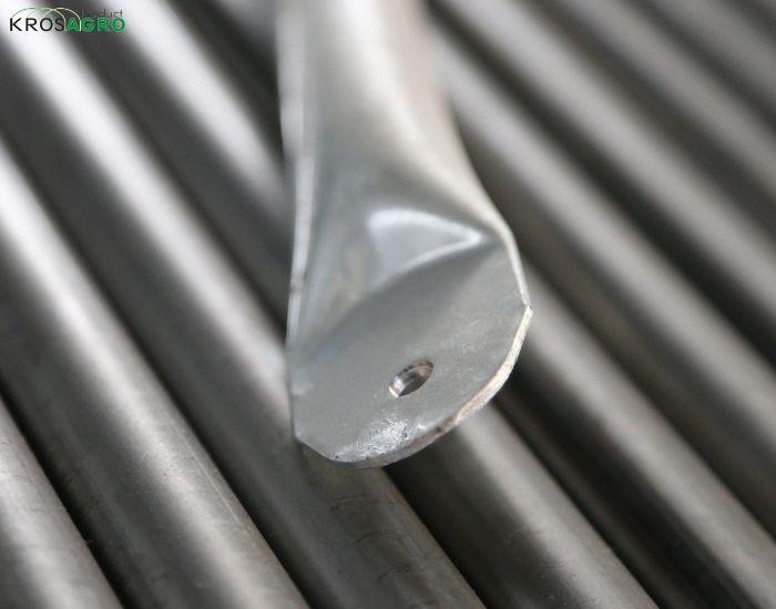 Łącznik do stabilizowania pałąków tunelu