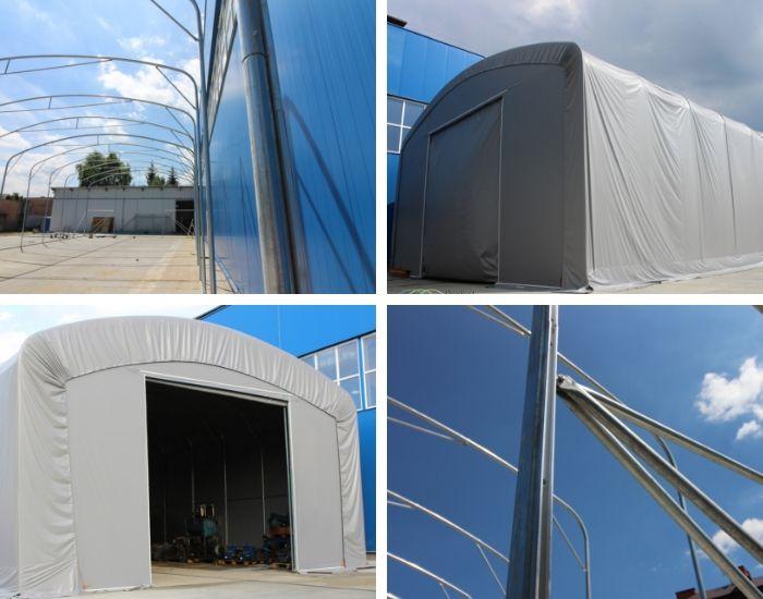 Mobile Zelte und Hallen