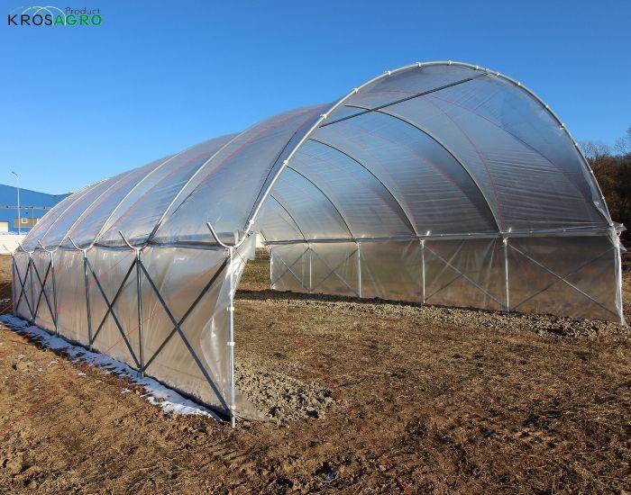 serres de jardin saisonniers en feuille pour les agriculteurs